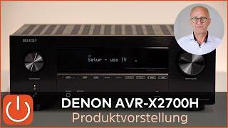 DENON AVR-X2700H(DAB) - Denon's 8K AV-Einstieg - taugt der was ? - THOMAS ELECTRONIC ONLINE SHOP -
