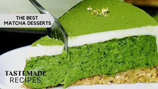 5+ Matcha Inspired Desserts That Will Convert Any Coffee Lover | Tastemade Japan by Tastemade