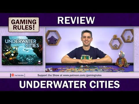 Underwater Cities - A Gaming Rules! review