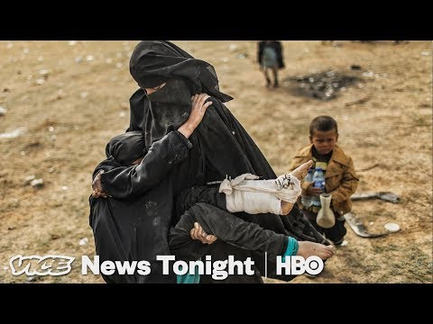 End Of The Caliphate & Celebrity Psychics: VICE News Tonight Full Episode (HBO)