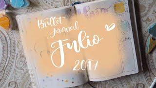 Bullet Journal: Julio 2017 (y despedida temporal)