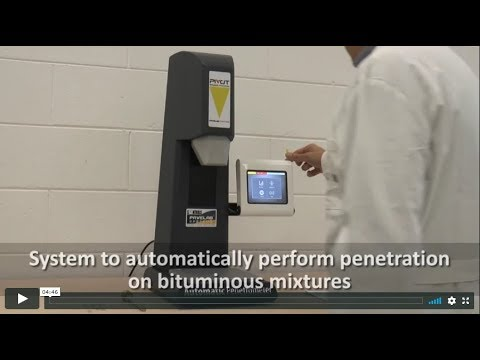 PIVOT — How-to perform penetration test on bituminous materials,ASTM D5 — IPC Global | CONTROLS Group