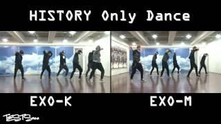 EXO K EXO M   History Dance practice