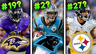Ranking all 32 NFL Teams' No. 1 Running Back for 2020 from WORST to FIRST