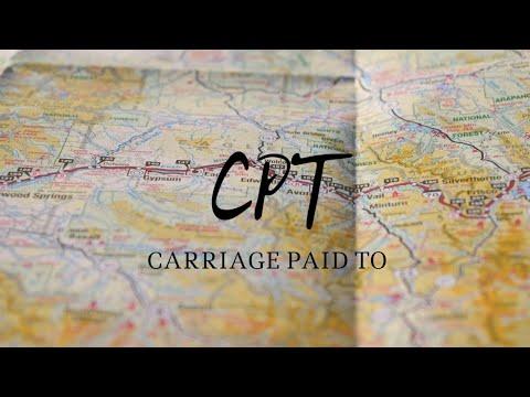 CPT - Инкотермс 2010 - торговый термин