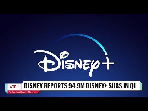 Disney Reports 94.9M Disney+ Subs in Q1