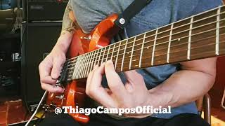 Dream Theater - LIE (Guitar Solo) by Thiago Campos