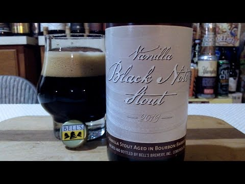 Bell's Brewery Vanilla Black Note Stout - 2019 (11.3% ABV) DJs BrewTube Beer Review #1273