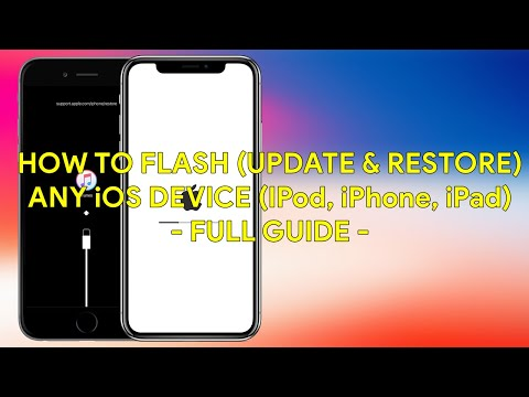 How To Flash (Update & Restore) Any iOS Device (iPod, iPhone, iPad) Full Guide - [romshillzz]