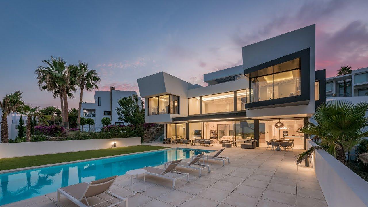New Incredible Сontemporary Villa, La Alqueria, Benahavis