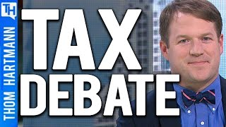 Who Should Pay Taxes? The Poor or the Rich? (w/ Charles Sauer)