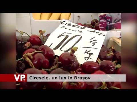 Cireșele, un lux în Brașov