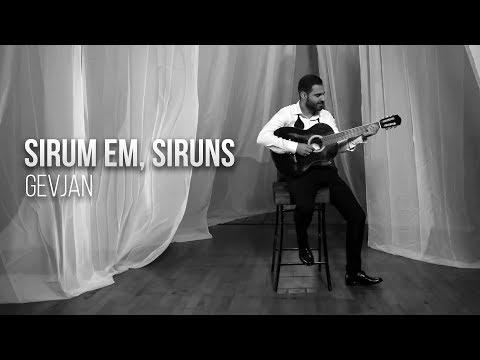 Gevjan - Sirum em, siruns