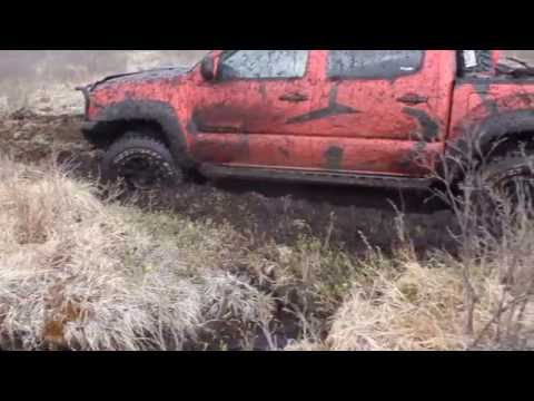 Tacoma Offroad Mudding In Mongolia Part 1