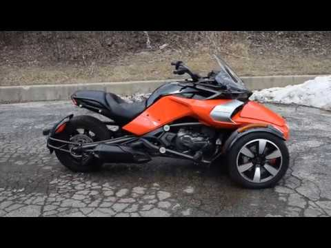 2015 Can-Am Spyder F3-S SE6 in Wauconda, Illinois - Video 1