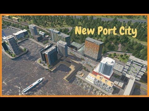 My New Port City | Cities Skylines