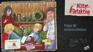 Die Alster-Detektive - Folge 4: Schmierfinken (Hörspiel)