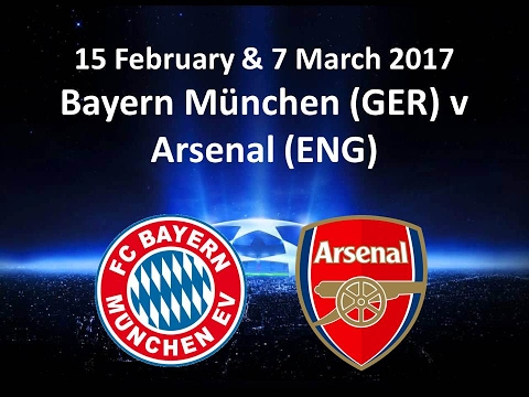 Bayern München V Arsenal UEFA Champions League Round Of 16 , 1st Leg