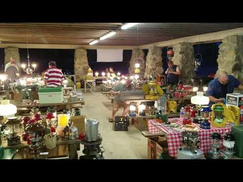 The Coleman Collectors have a gathering at Noccalula twice a year!!  They have some pretty impressive stuff!!!!