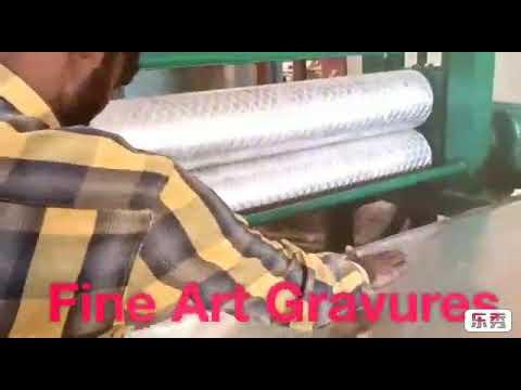 Aluminium Sheet Embossing Machine
