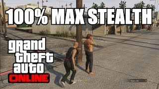 GTA V Online - Max Your STEALTH Skill Stat 100% after Patch 1.13 (GTA 5 Takedown Compilation)