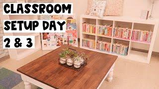 Classroom Setup Day 2 & 3! 2020-2021✰