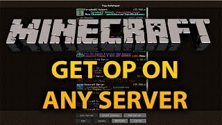 Minecraft Servers: How To Get OP For Free (I'm From Planet Minecraft)