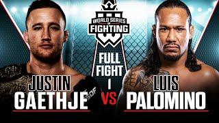 #WSOF19: Justin Gaethje vs. Luis Palomino Full Fight