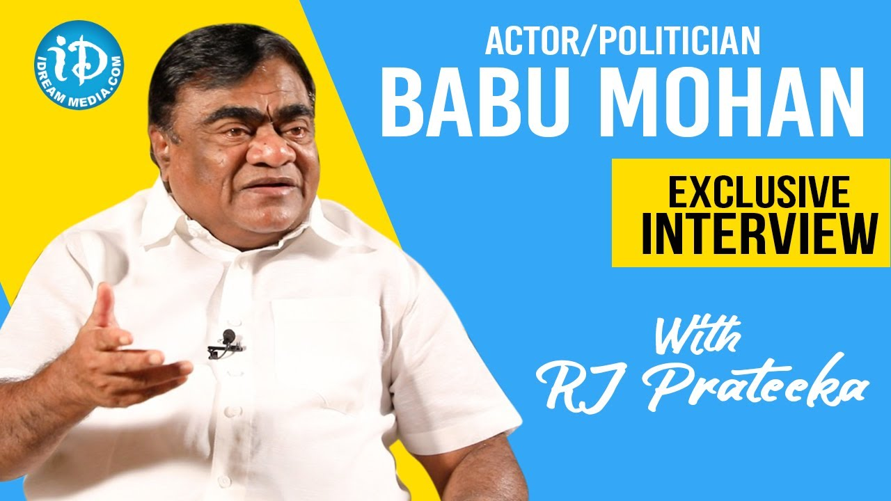 Actor - Politician Babu Mohan Exclusive Full Interview