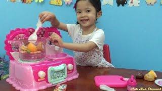 Bộ đồ chơi nhà bếp Minnie Mouse - đồ chơi nấu ăn làm bếp - Kitchen play set