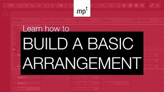Ableton Push 2 - Build a Basic Arrangement