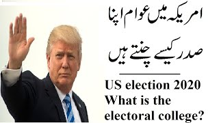 How US President elected ?/: What is the electoral college?