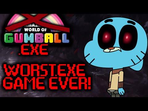 WORST .EXE GAME EVER MADE!!! GUMBALL.EXE