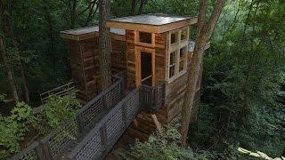 Behind the Build: Florida Georgia Line's Speak Easy Treehouse   Treehouse Masters
