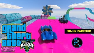 GRAND THEFT AUTO V | SCRAMJET PARKOUR FUNNY GAMEPLAY
