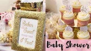 ITS A GIRL! BEST BABY SHOWER EVER | AMAZING PINTEREST DIY DECOR & GAMES