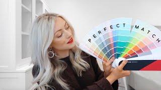 How Interior Designers Color Match