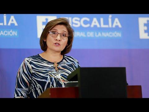 Pronunciamiento de la Vicefiscal General de la Nación, Martha Mancera, sobre caso de atentado al Centro Comercial Andino