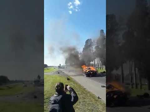 Accidente fatal en Ruta 5