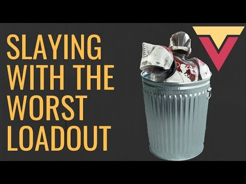 Slaying with the WORST Loadout in Destiny 2 (Season of Opulence)