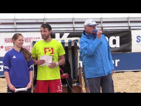 Beachhandball für Damen, Herren und männliche A-Jugend – Die Eröffnung