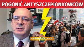 """""""Pogonić ANTYSZCZEPIONKOWCÓW!!"""" Piotr Zgorzelski NIE PRZEBIERAŁ w słowach!"""
