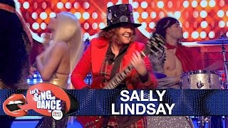 Sally Lindsay perfoms Slade's Cum On Feel The Noize | Let's Sing and Dance