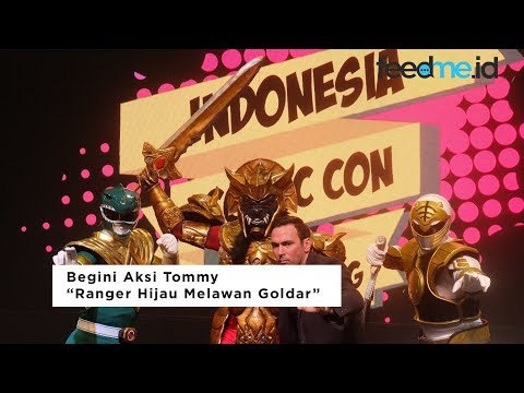 Keren, Simak Video Pertarungan Live Action Ranger Hijau Melawan Goldar!