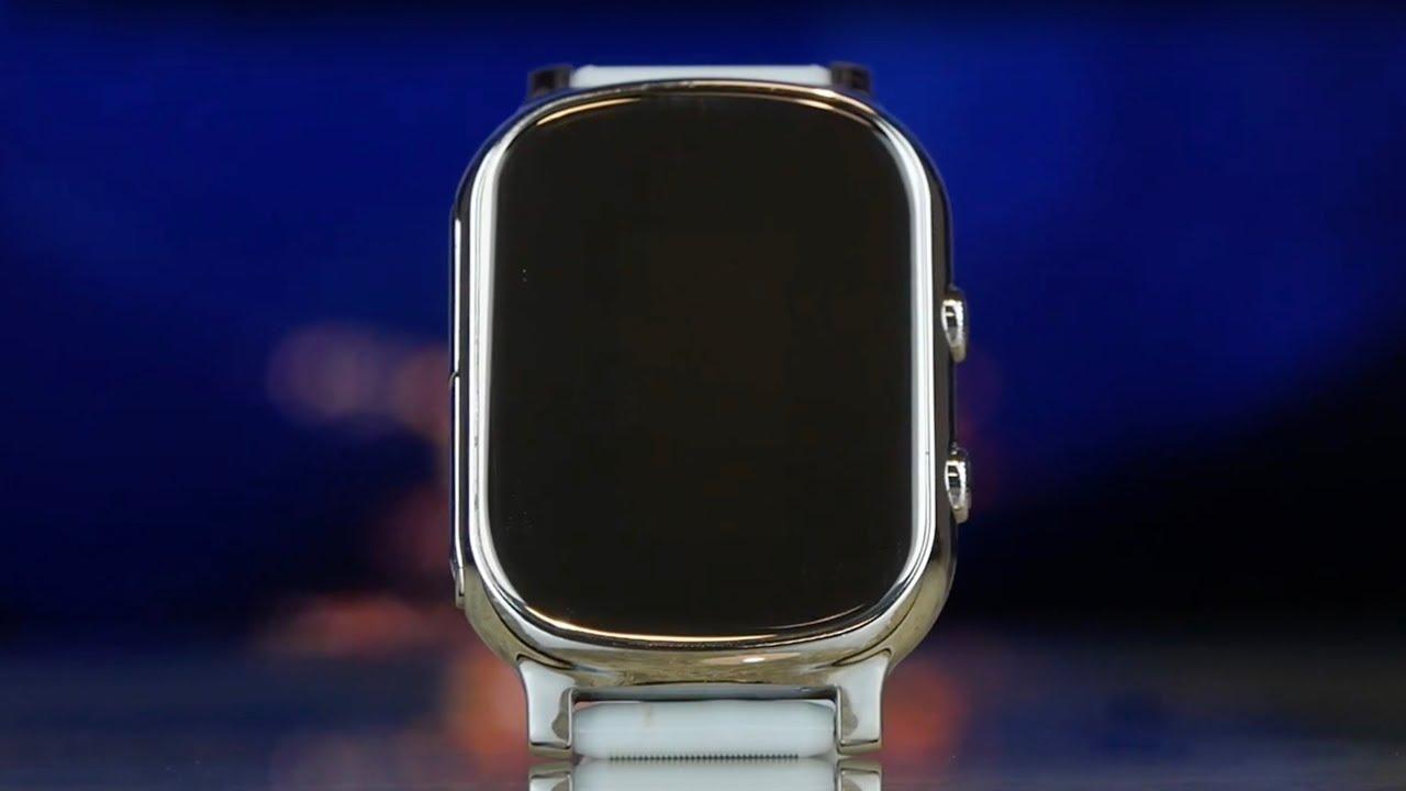 Смарт-часы GOGPS K20 (Chrome) К20ХМ video preview