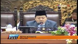 DPR RI Sahkan Undang-Undang Pemilu