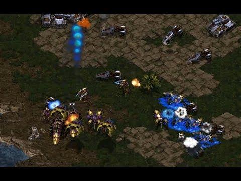 P - Last (T) v Mini (P) on Fighting Spirit - StarCraft  - Brood War REMASTERED