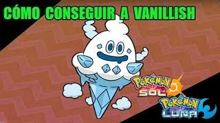 Vanillite  - (Pokémon) - Tutorial cómo conseguir a VANILLISH (Batalla S.O:S) - Guía pokémon Sol y Luna