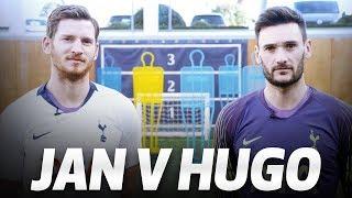 MANNEQUIN FOOTBALL CHALLENGE! JAN VERTONGHEN V HUGO LLORIS