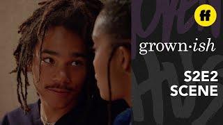 "Grown Ish Season 2, Episode 2   Luca Says ""I Love You""   Freeform"